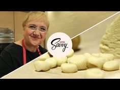 Lidia Bastianich's Gnocchi: The Only Recipe You'll Ever Need - Savvy, Ep. 30 - YouTube