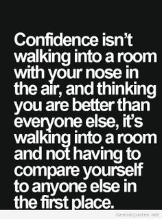 Confidence new quote for instagram