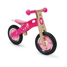 Draisienne Vélo d'enfant sans pédales rose / draisienne