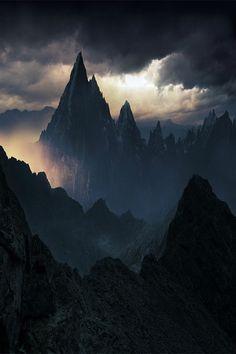 spatterlight: The Klarkash Mountains
