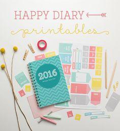 Free Diary Printables – Happy ~ Tinyme