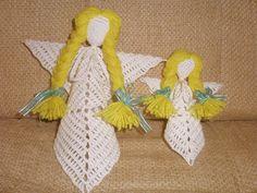 Szydełkowe aniołki