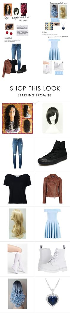 """For a Story"" by ajlutz04 ❤ liked on Polyvore featuring Frame, Converse, Karen Millen, Boohoo, DKNY, Dr. Martens, Amanda Rose Collection and Kate Spade"