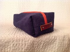 A personal favorite from my Etsy shop https://www.etsy.com/listing/260306686/custom-for-kd-navy-hatch-with-tangerine