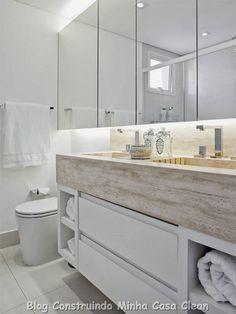 30 Dicas de Banheiros e Lavabos Decorados e Modernos!!!