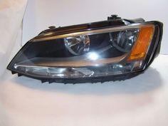 2011-2015 Volkswagen VW Jetta  Headlight Headlamp Left LH Halogen Assembly OEM #Volkswagen
