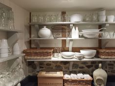 Cottage | Pantry | Open Shelves | Interiors