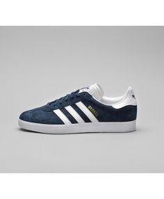 best website ecad7 39542 Cheap Adidas Originals Gazelle Trainer Collegiate Navy White Sale UK Adidas  Gazelle Mens, Adidas Gazelle