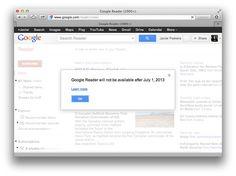 Google anuncia el fin de Google Reader