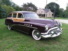 '52 Buick Roadmaster Estate Wagon