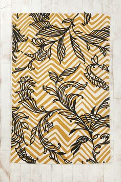 Magical Thinking Painted Vine Rug  #UrbanOutfitters