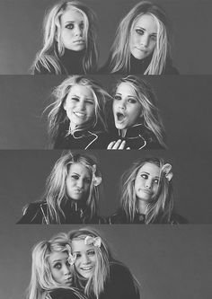 I can't help it, i still love the Olsen twins... or should i say- Mary Kate and Ashley