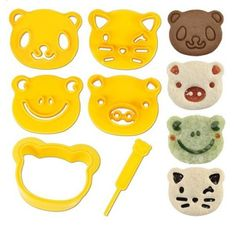 animal bento cutters | cool mom picks back to school guide