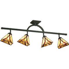 Pro Track® Tiffany Glass Scroll Ceiling Track Light | Tiffany glass Tiffany and Ceilings  sc 1 st  Pinterest & Pro Track® Tiffany Glass Scroll Ceiling Track Light | Tiffany glass ...