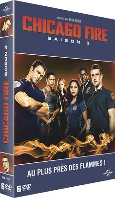 Nouveau concours: CHICAGO FIRE SAISON 3 2 Coffrets 6 DVD à gagner
