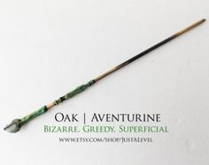 Honeyfur Harry Potter Inspired Wand Ilvermorny by JustALevel