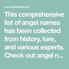 names of angels - 236×236