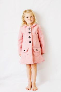 Image of the BUBBLEGUM coat PDF sewing pattern by See Kate Sew