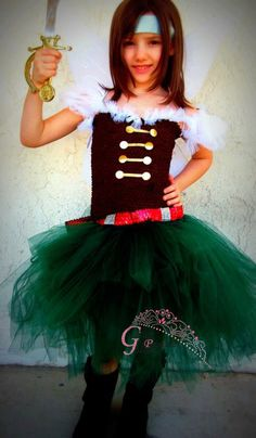 Pirate Fairy inspired tutu dress costume