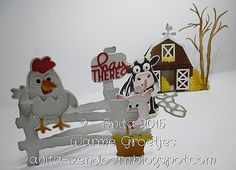 ECD 1021 Barn Pop Up ECD 1026 Pebbles ECD 992 The Woods ECD 1025 Hey There Pop Stand ECD 1022 Brownie the Cow ECD 1023 Cheepers the Chicken. ECD 1024 Virgil the Pig.