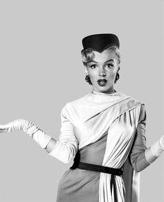 Marilyn Monroe costume test