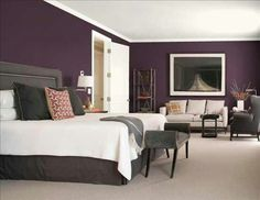 Plum And Gray Color Scheme.