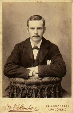 from cabinet photo. London, 19th C.