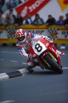 Carl Fogarty...............legend and as mad as fuck but all round nice guy.