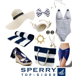 """""""Nautical Niceties"""" by dmpecht ❤ liked on Polyvore"""