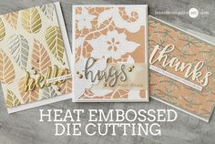 Heat Embossed Die Cutting