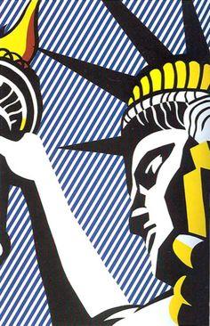 lady liberty, Lichtenstein