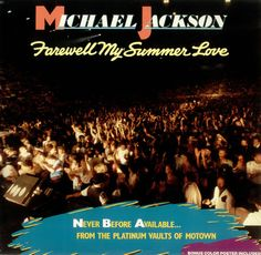 For Sale - Michael Jackson Farewell My Summer Love + Poster Germany  vinyl LP album (LP record) - See this and 250,000 other rare & vintage vinyl records, singles, LPs & CDs at http://eil.com
