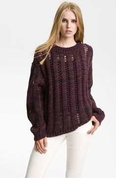 Rachel Zoe 'Frida' Chunky Knit Pullover | #Nordstrom #falltrends