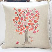 """18"""" Ink Painting Tree Cotton/Linen Decorative... – AUD $ 15.34 Sofa Cushion Covers, Decorative Throw Pillows, Large Pillow Cases, Burlap, Pillow Covers 24x24, Pillows, Pillow Cushion, Large Pillows, Cheap Cushions"""