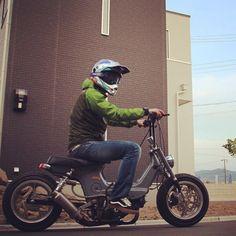 #mulpix Photo by @ryuchan70 #iwawakixengineering. #お気に入り #more power #okazakix #Deepthroat70 #bmx #brakeing #chopper # #シャリィ #low #4mini #4st #bike #チャンプロード #more down #vw #太足 #最上もが #dax #monkey #gorilla #ape #gal # #シャリー #自転車 # #honda #chaly #トタングレー #まふりゃ〜ほっし〜系 #おん? #vans