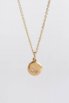 288 best pendants necklaces medallions charms images on large diamond pendant 18k 14k yellow gold pendant little diamond charm necklace disc pendant gold diamond pendant nugget aloadofball Images