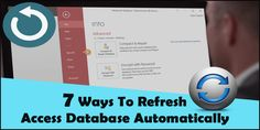 Try different ways to refresh Access database automatically. Catch more detail on how to refresh Access table, form, and web app data. Parent Forms, Success Message, Update All, Save Yourself, Microsoft, App, Detail, Table, Apps
