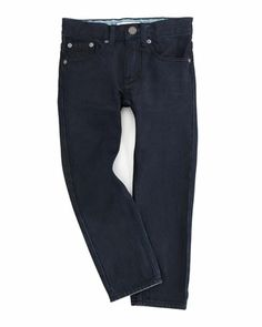 Boys\' Denim Trousers by Burberry at Neiman Marcus.