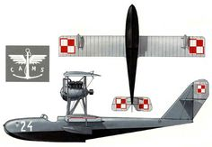 Poland / CAMS 30E / Unit: Trainer Squadron 24 End of 1930's to beginning of 1930's.