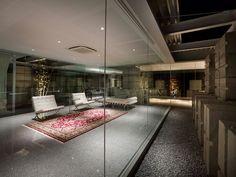 naf architect & design: glass house for diver