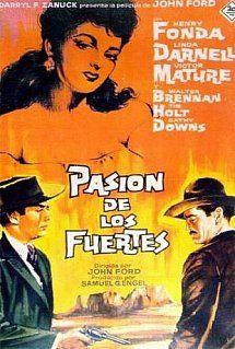 Pasión de los fuertes (1946) Título original: My Darling Clementine (EE.UU.) Género: Películas > Drama / Western Director: John Ford. Duración: 97 minutos.