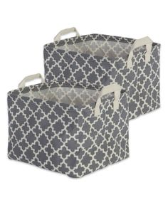 Our collapsible laundry hampers are coated on the inside, to ensure it does not absorb or leak moisture and keep your surroundings mold-free Use it for organizing detergents and cleaning supplies in your laundry room or bathroom. Laundry Bin, Laundry Hamper, Laundry Room, Storage Bins, Storage Spaces, Cleaning Supplies, Grey, Hampers, Pattern