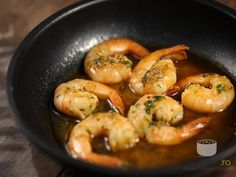 Shrimp with Garlic Yami Yami, I Foods, Shrimp, Foodies, Nom Nom, Seafood, Garlic, Food And Drink, Healthy Recipes