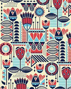 Motifs Textiles, Textile Patterns, Textile Design, Fabric Design, Design Art, Art Designs, Ethnic Patterns, Blue Design, Graphic Design