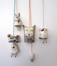 Yen Yen Lo|Ceramic Art|Melbourne | Bells Let your mind be full of inspiration!!