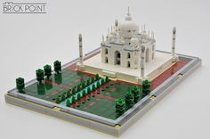 India's most famous piece of architecture is also the world's most famous mausoleum and the final resting place of Mumtaz Mahal, a 17th-century empress consort. BuilderBrick Pointbrings us a lovely microscale LEGOrendition complete with the tomb and its surrounding grounds, including the long reflecting pool in front. And if you want to see how the …