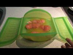 Salmón con naranja en estuche de vapor Lekue - YouTube