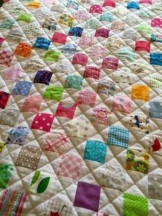 Checkerboard quilt by Franabliss