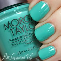 Morgan Taylor Island Treasures for Summer 2014 – Swatches