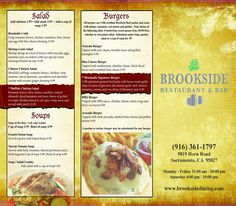 Restaurant ToGo Menu Graphic Design Services For Restaurant And
